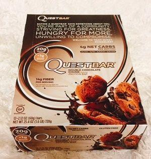 クエストバーチョコレートチャンク