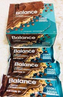 Balance Bar, 栄養補給バー、生クッキー味アイハーブ