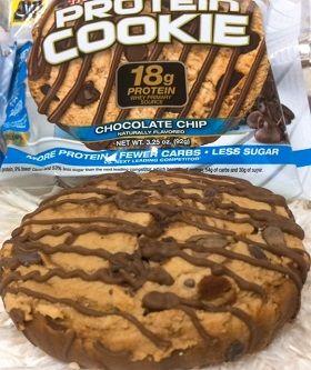 Muscletech,プロテインクッキー、チョコレート