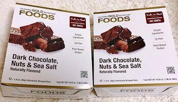 チョコレートナッツ&海塩バー