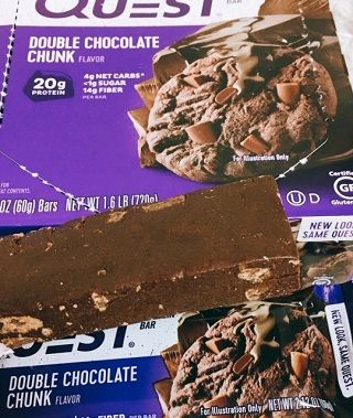 QuestBar, Protein Bar, Double Chocolate Chunk