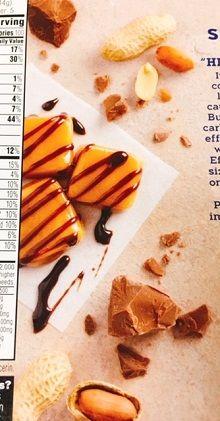 Atkins, 軽食、キャラメルチョコレート・ピーナッツヌガーバー