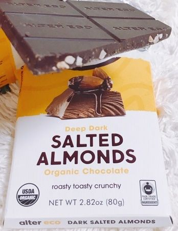 Alter Eco, Deep Dark Salted Almonds