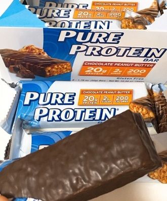 Pure Protein, チョコレートピーナッツバターバー
