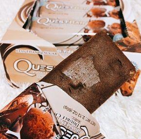 クエストバーお勧めダブルチョコレートチャンク