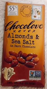 Chocolove, アーモンド & シーソルト イン ダークチョコレート1