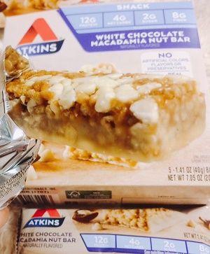 アトキンスプロテインバーホワイトチョコ