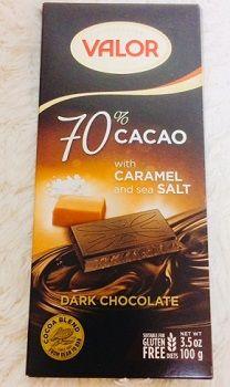 Valor, ダークチョコレート、 70% カカオ、 トフィー入り板チョコ