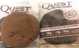 Quest Nutrition, プロテインクッキー、ダブルチョコレートチップ