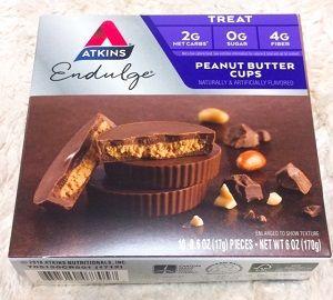 アトキンスピーナッツバターチョコレートカップ