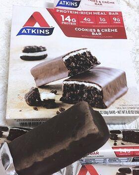 Atkins, クッキーアンドクリームバー