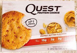 Quest Nutritionプロテインクッキーピーナッツバター