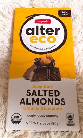 Alter Eco, Organic Chocolate Bar, Deep Dark