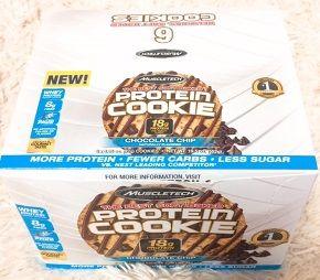 Muscletech, プロテインクッキー、チョコレートチップ、クッキー