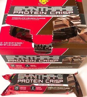 BSN, シンサ6プロテインクリスプ、チョコレートクランチ