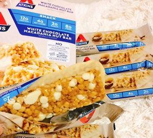 Atkins, ホワイトチョコレート マカダミアナッツ