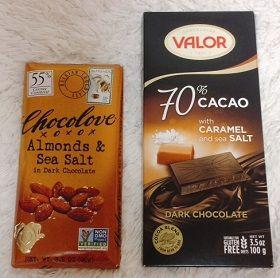 板チョコValor, ダークチョコレート、 70% カカオ