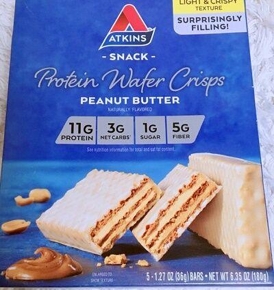 Atkinsプロテインウェイハークリスプ、ピーナッツバター
