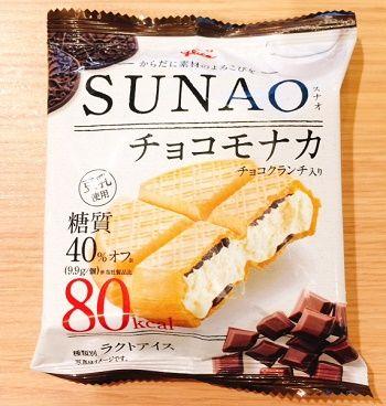 SUNAO80Kcalチョコモナカ