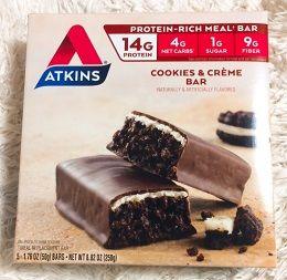 Atkins, Advantage、クッキー&クリーム・バー