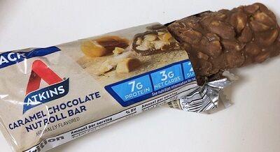 アトキンスバーダイエットキャラメルチョコナッツ