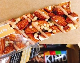 KIND BarsNuts & Spices, Caramel Almond & Sea Salt