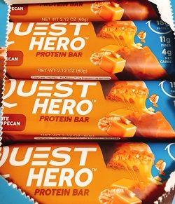 Quest Nutritionプロテインバーチョコレートキャラメルピーカン