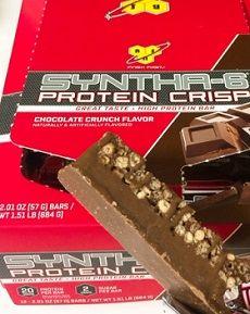 1BSN, シンサ6プロテインクリスプ、チョコレートクランチ味