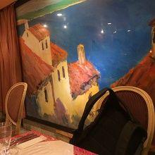クロアチアレストラン Dobro店内