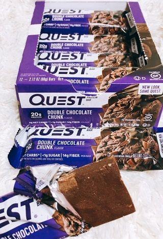 Protein Bar, Double Chocolate Chunk
