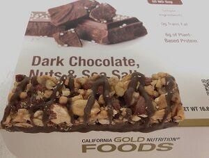 ダークチョコレートナッツ海塩バー
