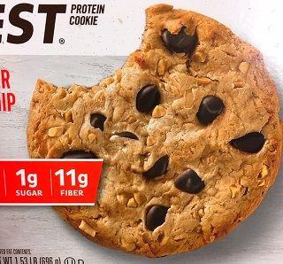 クエストプロテインクッキーピーナッツバターチョコチップ