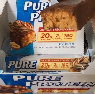 Pure Proteinチョコレート・ピーナッツ・キャラメル・バー