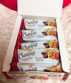 , チョコライト プロテインバークッキー