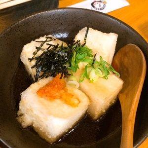 揚げ出し豆腐(とりだん)