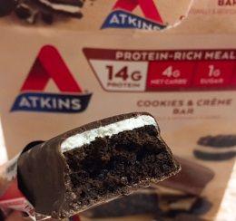 Atkins, Advantage、クッキー&クリーム・バークチコミ感想