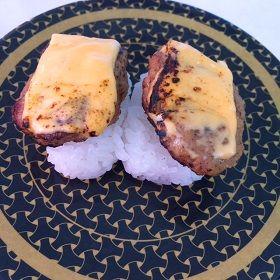 チーズハンバーグ寿司 はま寿司
