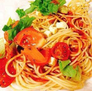 ファミマトマト好きのためのトマトパスタ