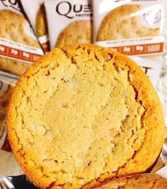Quest Nutritionプロテインクッキー、ピーナッツバター