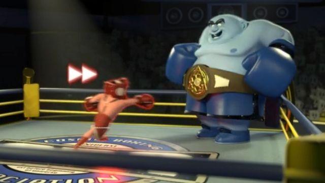 時間を操るボクサーと空間を操るボクサーが戦うCGアニメーション The Test of Time