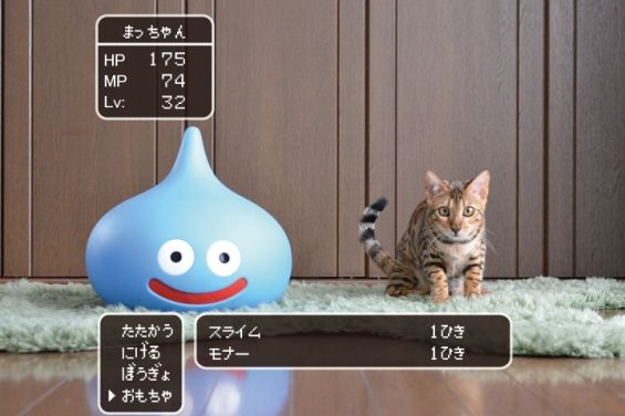 【画像あり】 ドラクエといえば猫派ゲームとして有名