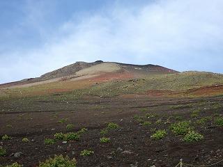 山頂(富士山)