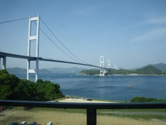 サンライズ糸山から来島海峡大橋