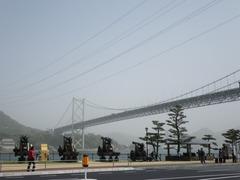 みもすそ川公園と関門橋