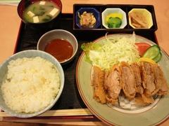 島豚ひれかつ定食