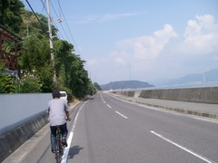 海岸線の道