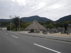 小豆島の墓地