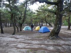 慶の松原キャンプ場