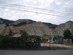 灘山の採石場