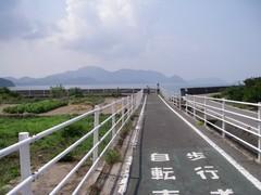 海沿いサイクリングロード